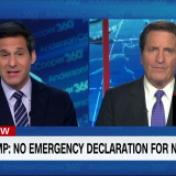 Garamendi joins Anderson Cooper to discuss Trump draining disaster relief funding for border wall