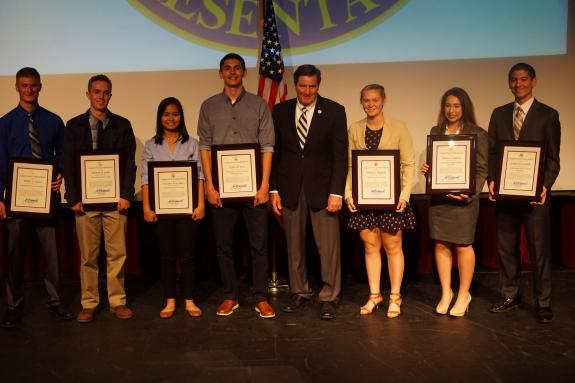 Congressman Garamendi Honors Nine 3rd District Students Nominated by His Office for Air Force, Military & Navy Service Academies