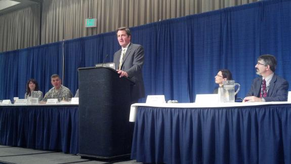 Garamendi speaks before Floodplain Management Association Conference on prevention measures