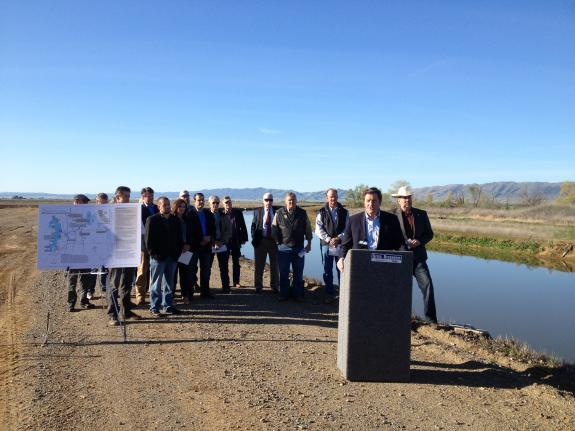 Congressmen Garamendi and LaMalfa Announce Sites Reservoir Water Storage Bill