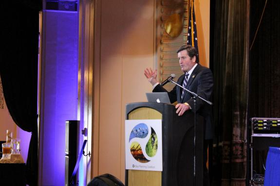 Congressman Garamendi Makes Case for Revitalization  of American Shipbuilding Industry and American Jobs  at Bay Planning Coalition Meeting in Oakland
