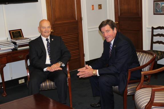 Rep. Garamendi Meets with New Director of the United States Maritime Administration