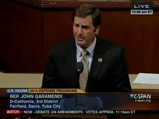 Garamendi speaks on House floor about sensible amendment to reduce wasteful spending in Afghanistan