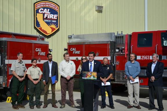 Concerned Leaders Sound the Alarm on the Need for More Wildfire Fighting Funds.
