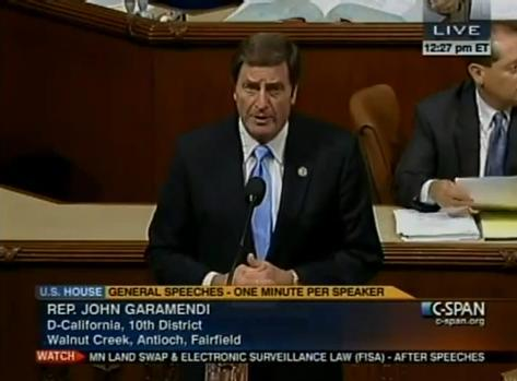 Garamendi Urges Support for Production Tax Credit  Crucial to Promoting American Wind Energy & Jobs