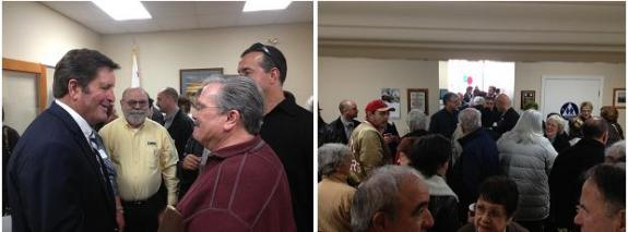 More than 150 3rd District Residents Attend  Rep. Garamendi's Yuba City District Office Open House