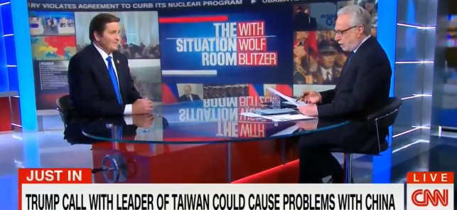 Garamendi joins CNN's Wolf Blitzer to discuss Trump's call with Taiwan feature image