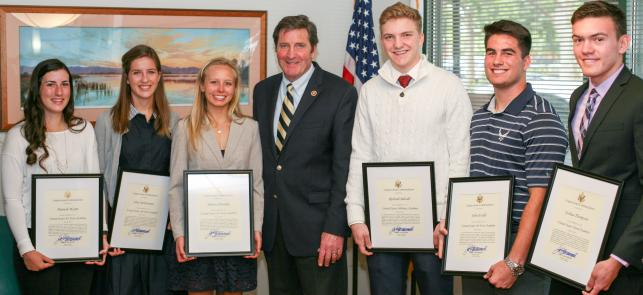 Congressman Garamendi Announces 3rd District U.S. Service Academy Entrants  feature image