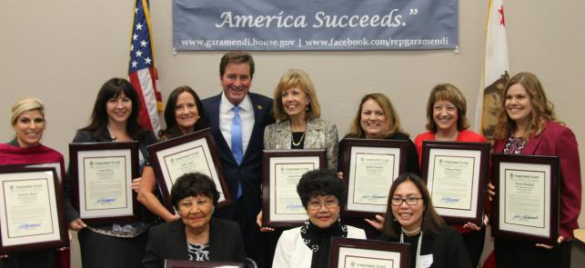 Garamendi honors Women of the Year from across the district feature image