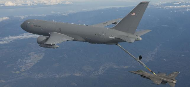 Travis AFB selected to receive the KC46A Pegasus Tanker feature image